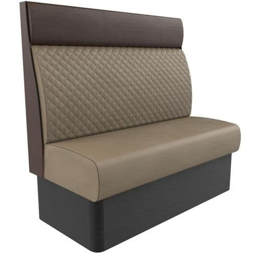 Kansas Quilted High Back Banquette Seating